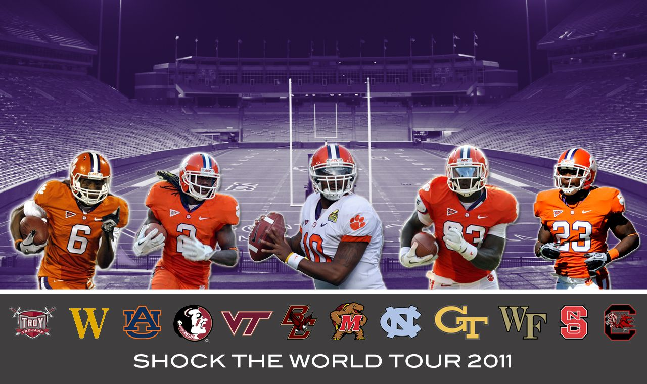 Clemson Shock The World Tour (With images) Tours, World