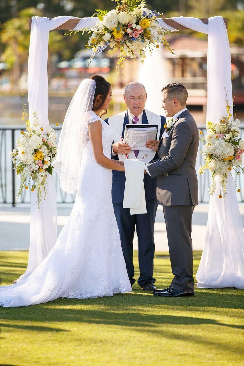 Orlando summer outdoor wedding wedding ceremony ideas and weddings