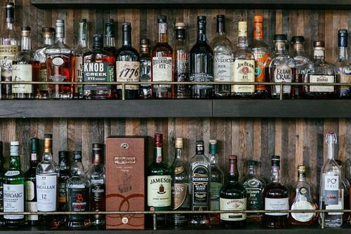 Pin By Michael Shoemaker On Things I Like A Little Too Much Bottle Display Liquor Storage Wine Rack