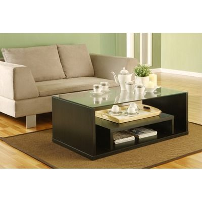 Hokku Designs Michel Two in One Extendable Coffee Table $209