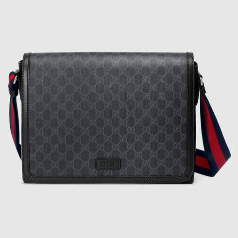 c421a355 GUCCI Gg Supreme Flap Messenger. #gucci #bags #shoulder bags ...