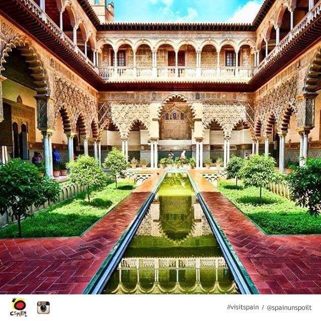 Real Alcazar, Sevilla (Andalucía)