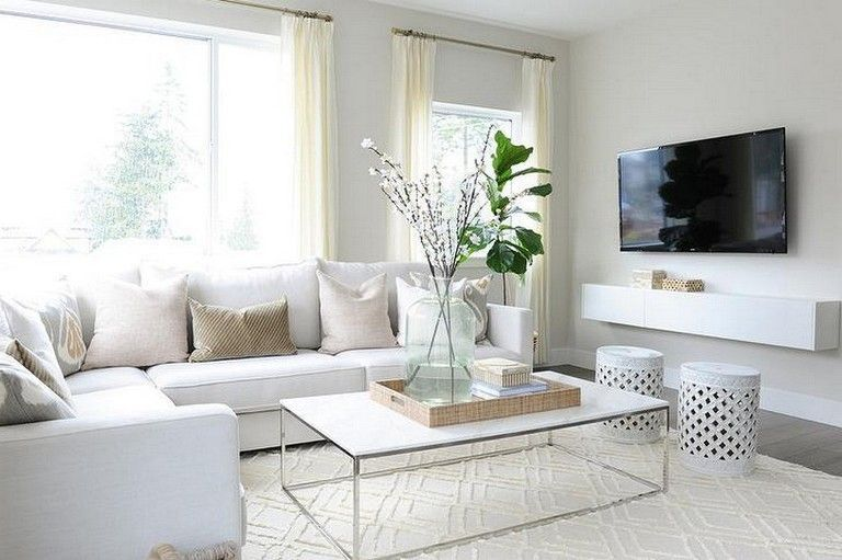 70 Prolong Living Room Design Ideas Living Room White Leather Couches Living Room White Sectional Sofa