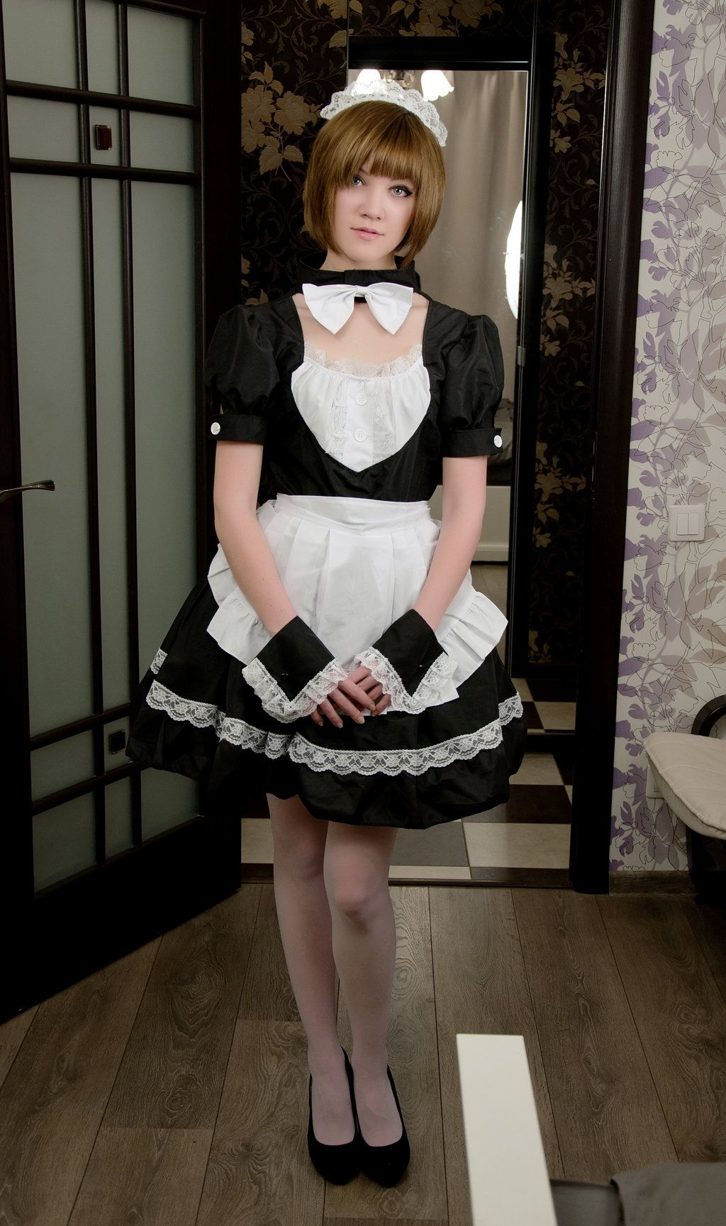 Outfit in pinterest girls maid
