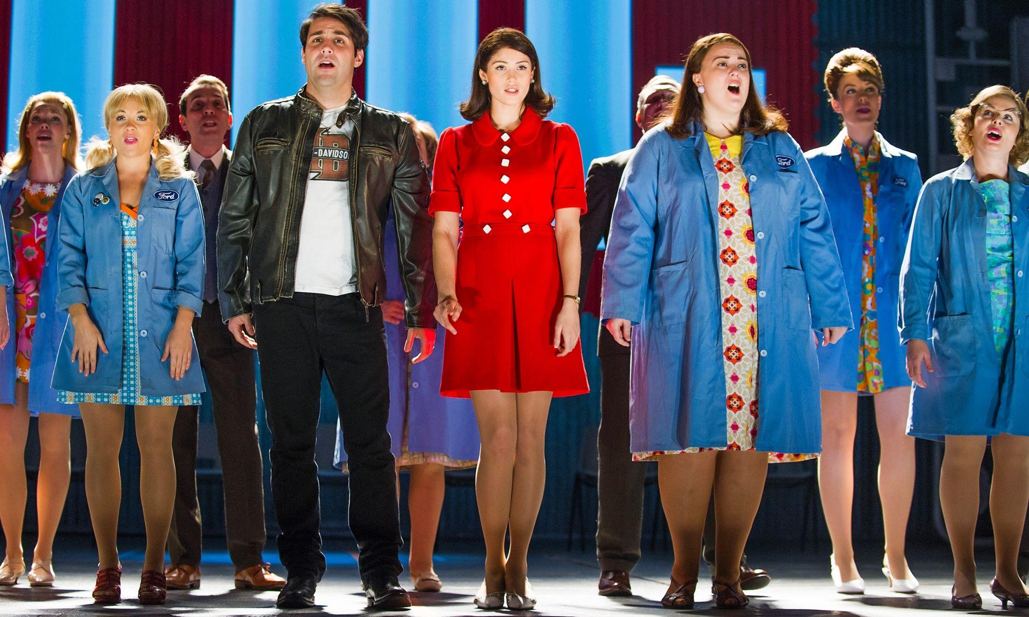 Made In Dagenham Review Brassy Gemma Arterton Musical Lacks