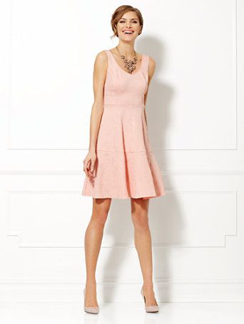 6f894fc27 Shop Eva Mendes Collection - Lexi Embossed Dress . Find your perfect size  online at the best price at New York   Company.