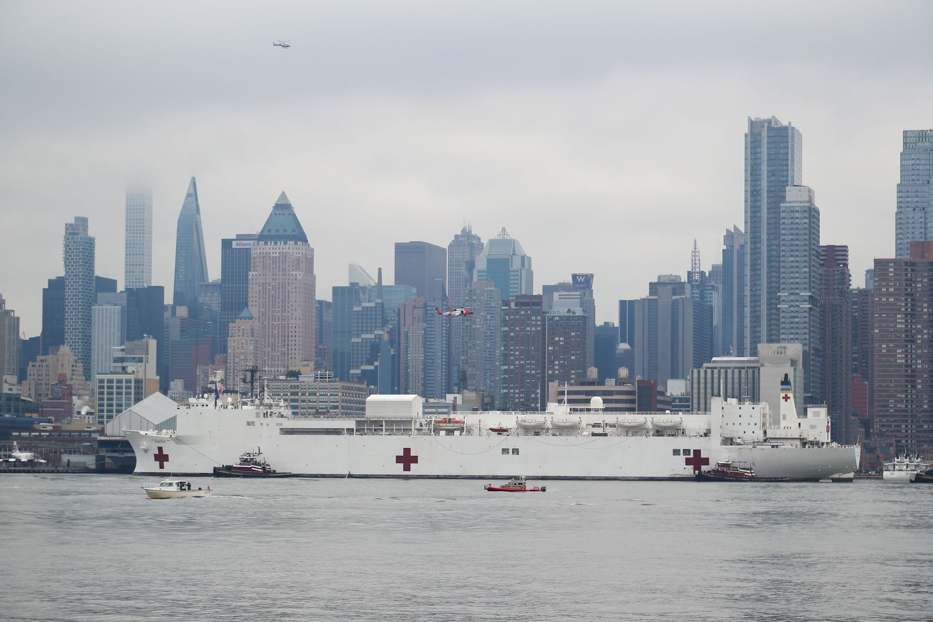 Everything You Need To Know About The Usns Comfort The Giant Hospital Ship In Nyc Army Corps Of Engineers San Clemente Rose City
