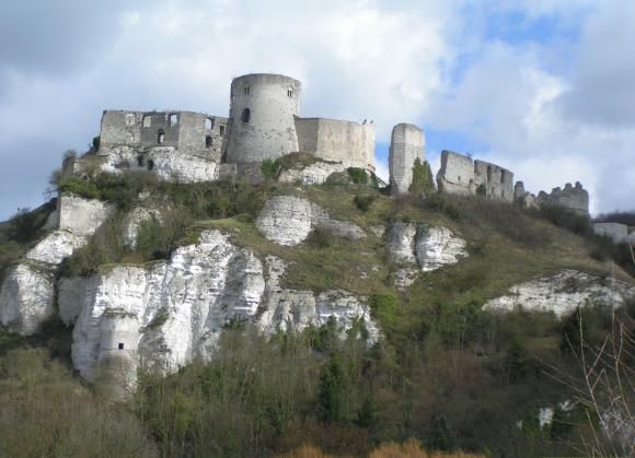 Château-Gaillard was the favorite castle of Richard the Lionheart (1188-1199) in Lower Normandy.