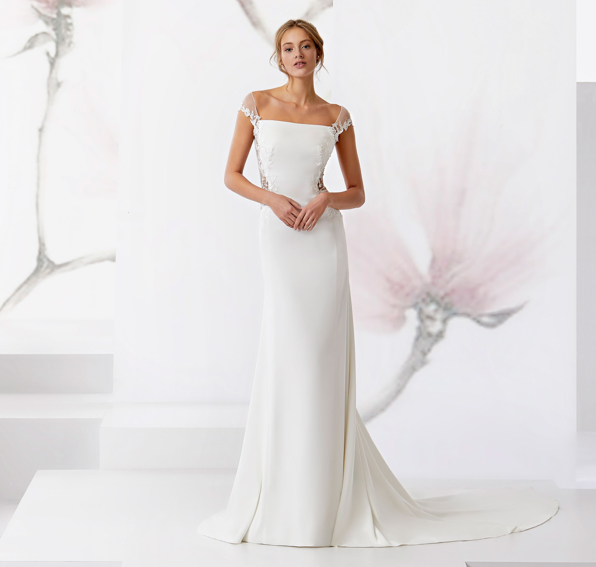 Nicole Spose l Jolies Collection 2018 l JOAB18451 | Stunning Simple ...