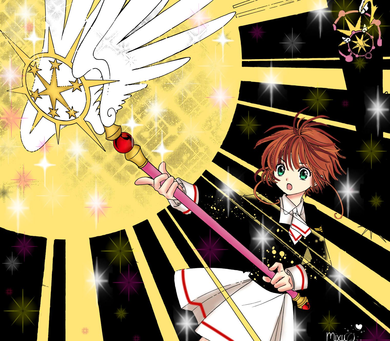 Image result for Cardcaptor Sakura: Clear Card Arc anime pinterest