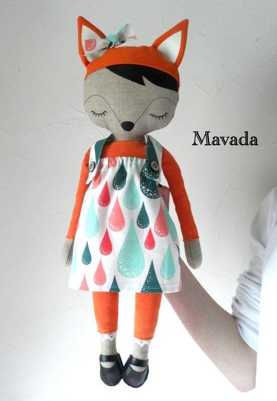La Petite Cabane De Mavada : petite, cabane, mavada, Petite, Cabane, Mavada, Dolls,, Doll,