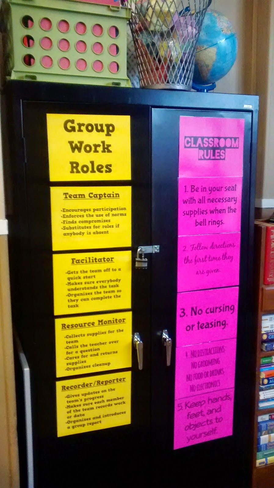 Math = Love: Posters of Group Work Roles | Classroom behavior ...