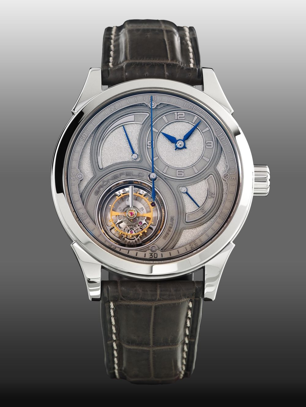 30f1c34f575 The Grönefeld Parallax Tourbillon Gets Updated with a New Dial ...