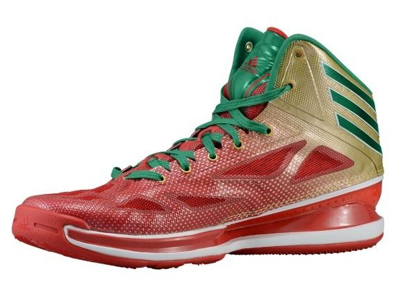 sale retailer bf348 b38d4 adidas Crazy Light 3 – Metallic Gold – Vivid Green – Light Scarlet Adidas  Hombre,