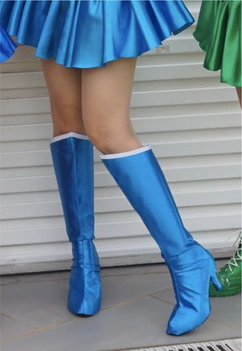 The Cosplay Chronicles: How to make Boots cover with Non-stretchy ...