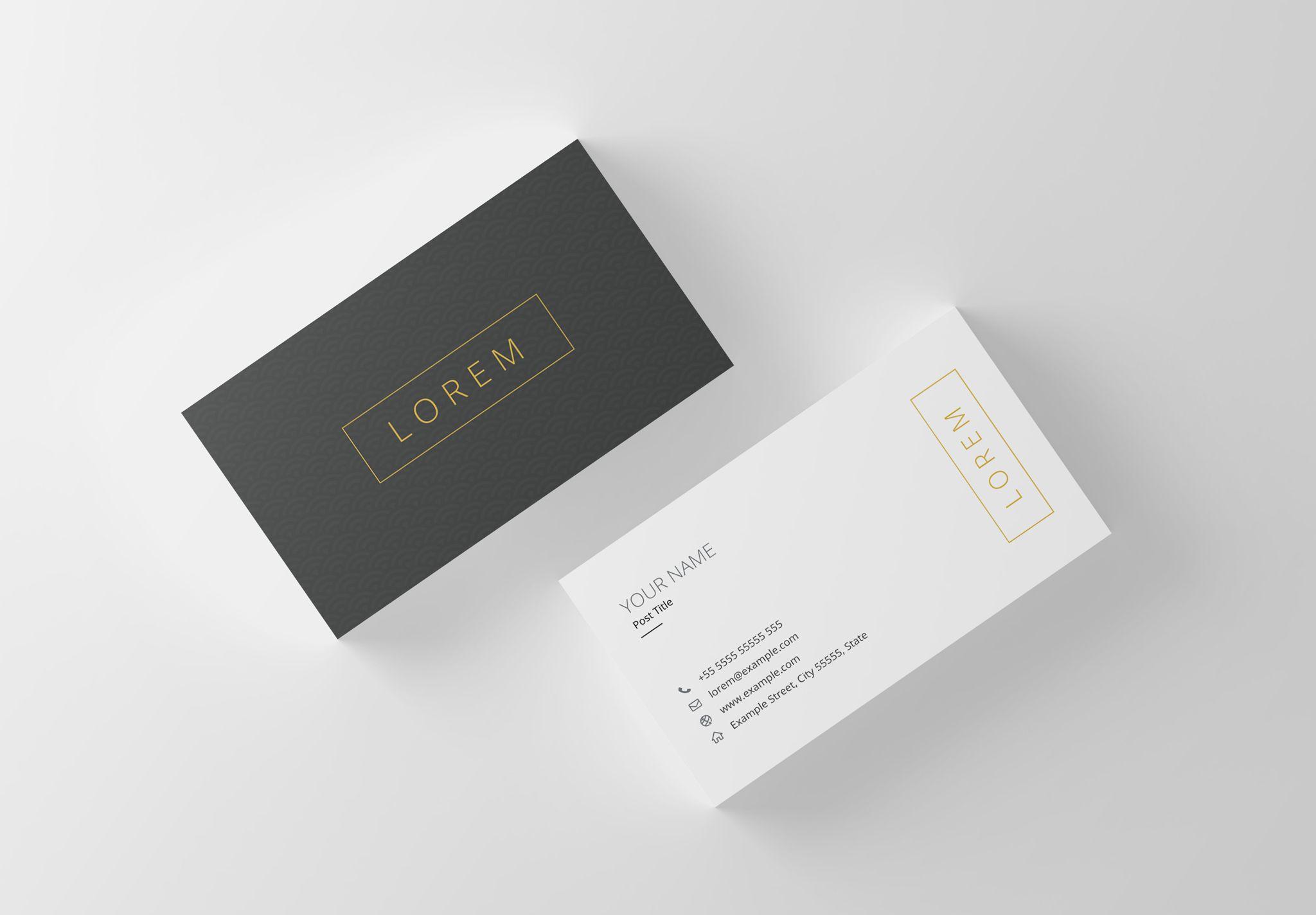 Professional Business Card Template 036 10 00 Crella Font