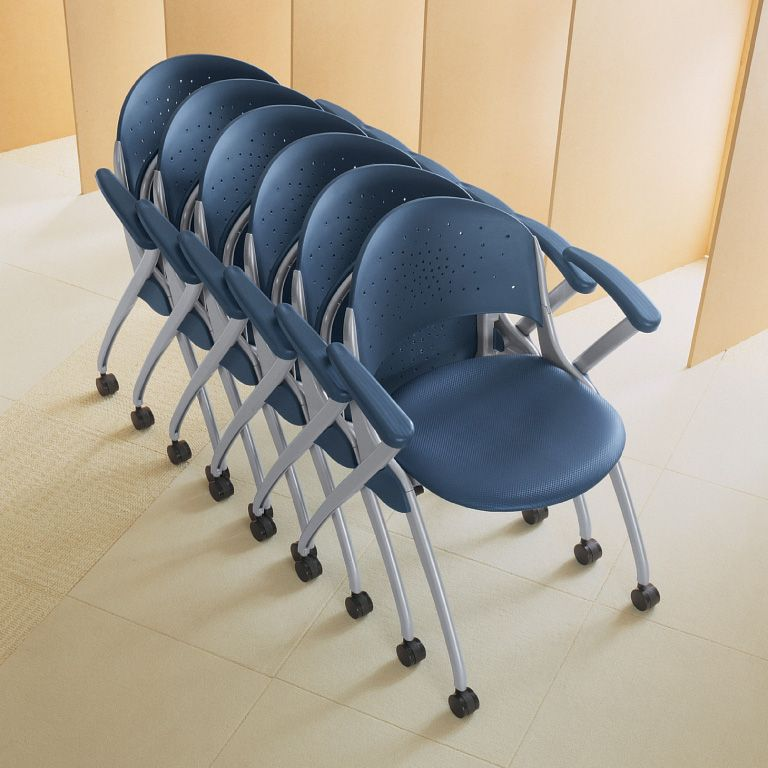 Versteel Simon Nesting Chairs (Available In A Variety Of Colors)