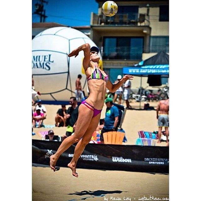 Inspiring words from pro beach volleyball player @kimdicello: How you do anything is how you do ever...