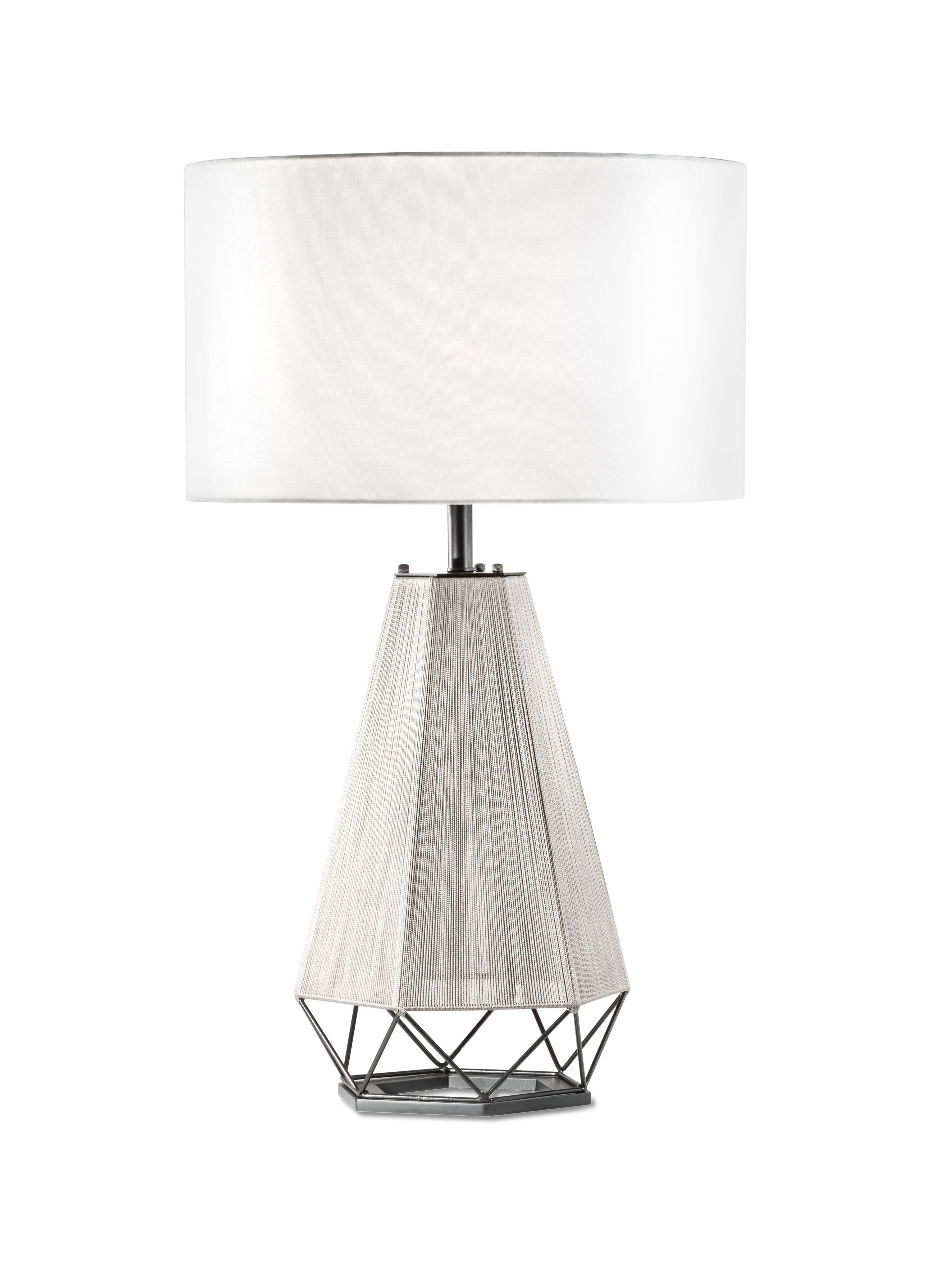 hight resolution of the polygon table lamp from novaofcalifornia is handcrafted and provides soft internal night light for