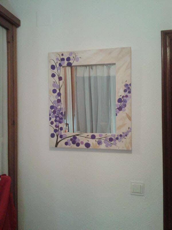 Marco de lienzo o madera, en este caso es un lienzo, lo decoramos ...