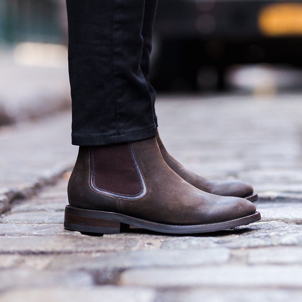 0d6fb741084 Duke | Dark Olive Suede in 2019 | Closet | Suede chelsea boots ...