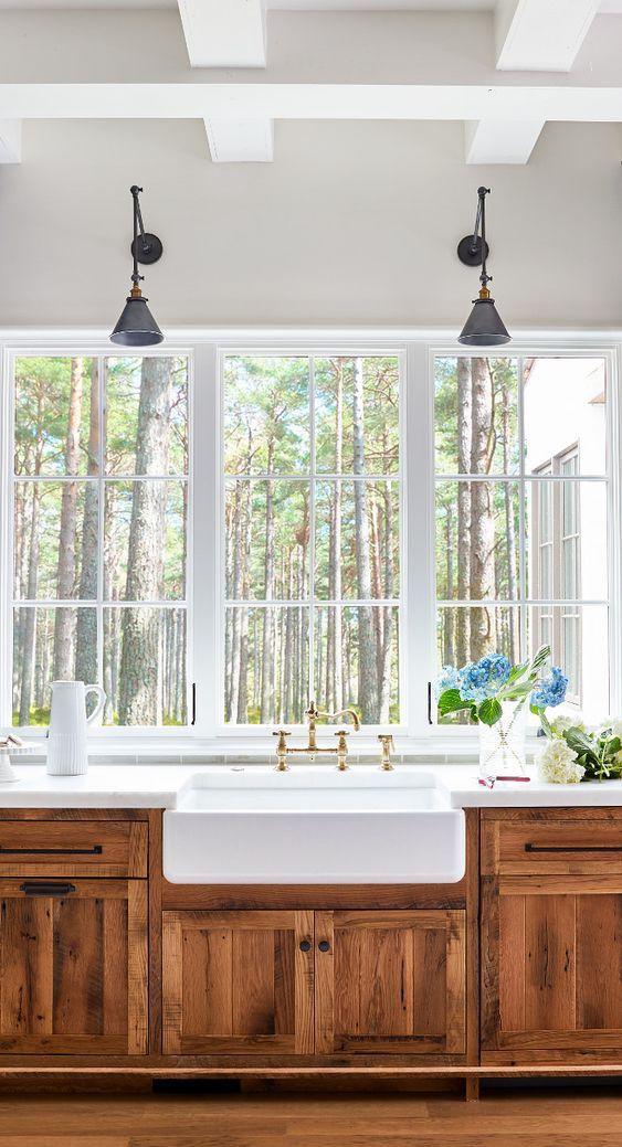 Best Reclaimed White Oak Kitchen Cabinetry Reclaimed White Oak 640 x 480