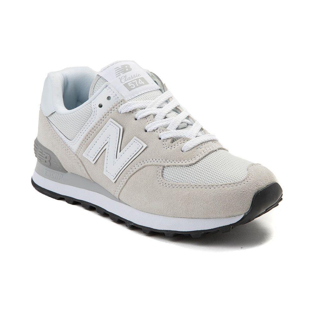 Womens New Balance 574 Classic Athletic Shoe - White ...