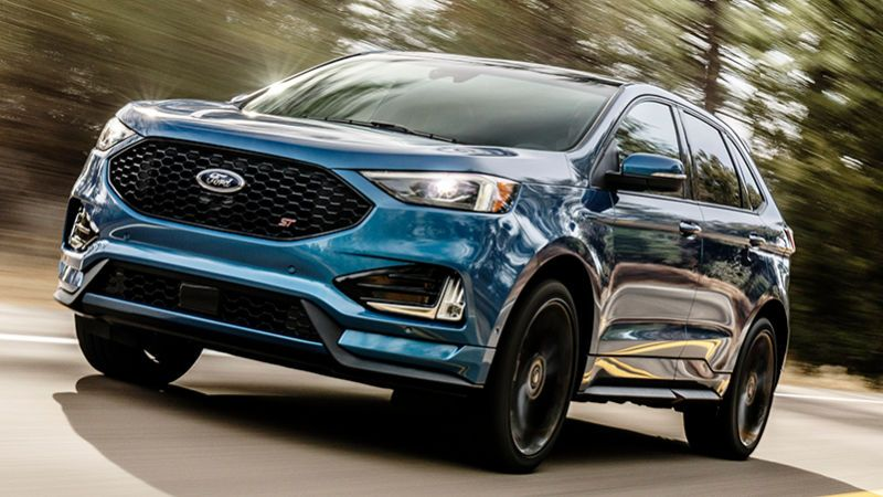 2019 Ford Edge St So This Is Happening Ford Suv Ford Edge