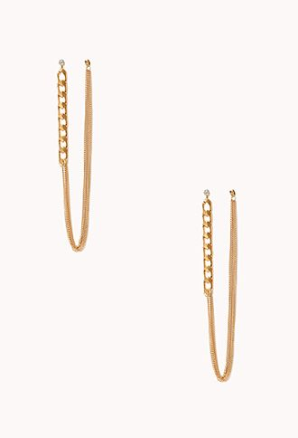 Multi Chain Drop Earrings Latest Trendsforever21drop