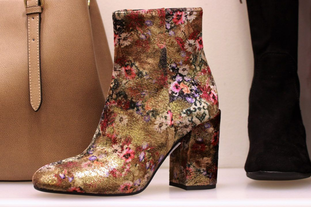 Botki Venezia Na Jesien W Kwiaty Ankle Boot Shoes Boots