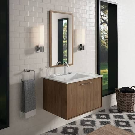 Photos Of KOHLER K WM Jute wall hung bathroom vanity cabinet with