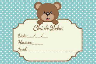 Convite Para Chá De Bebê Grátis Editáveis 2 Chá De Bebê