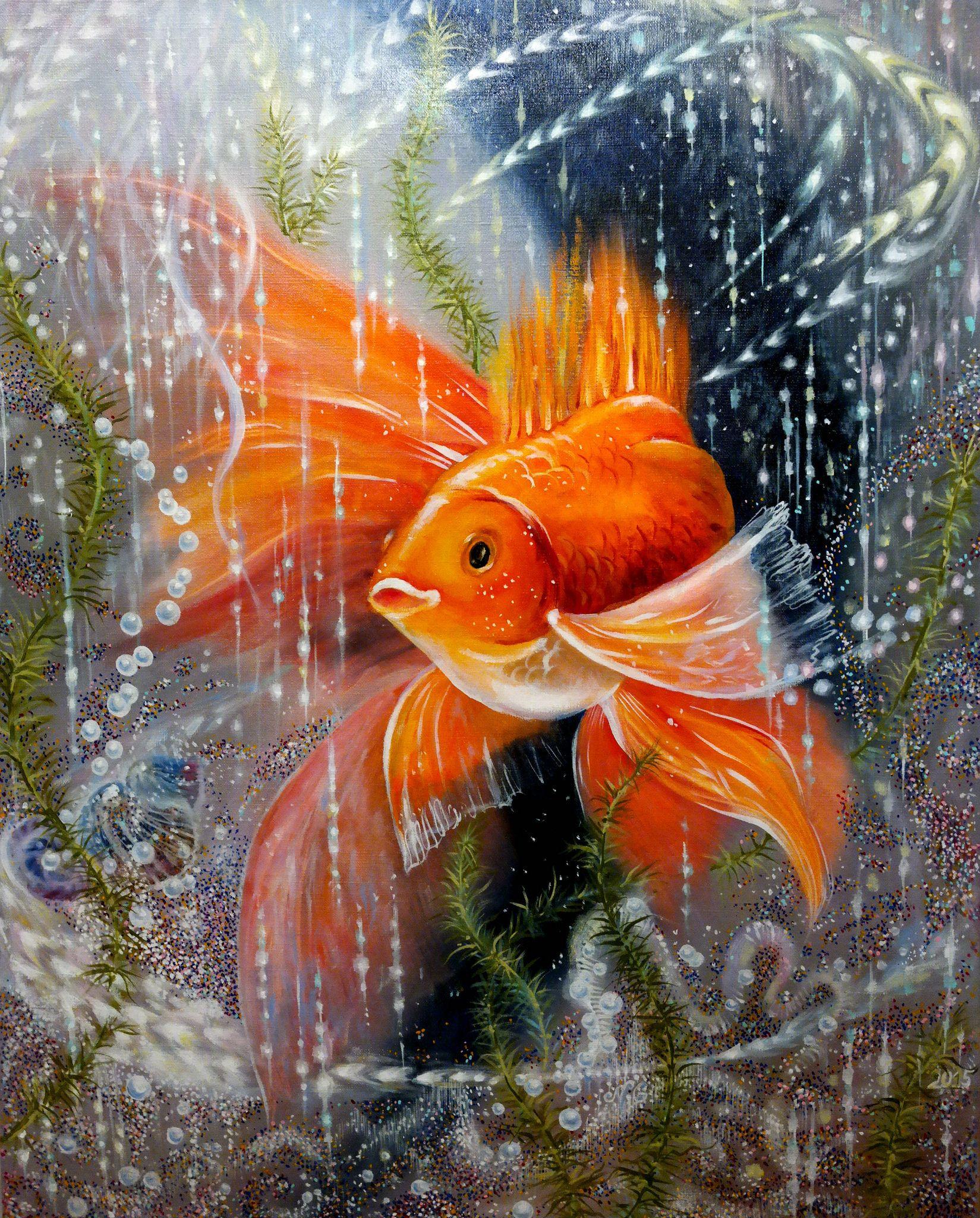 Рыбки открытки картинки, картинка белом