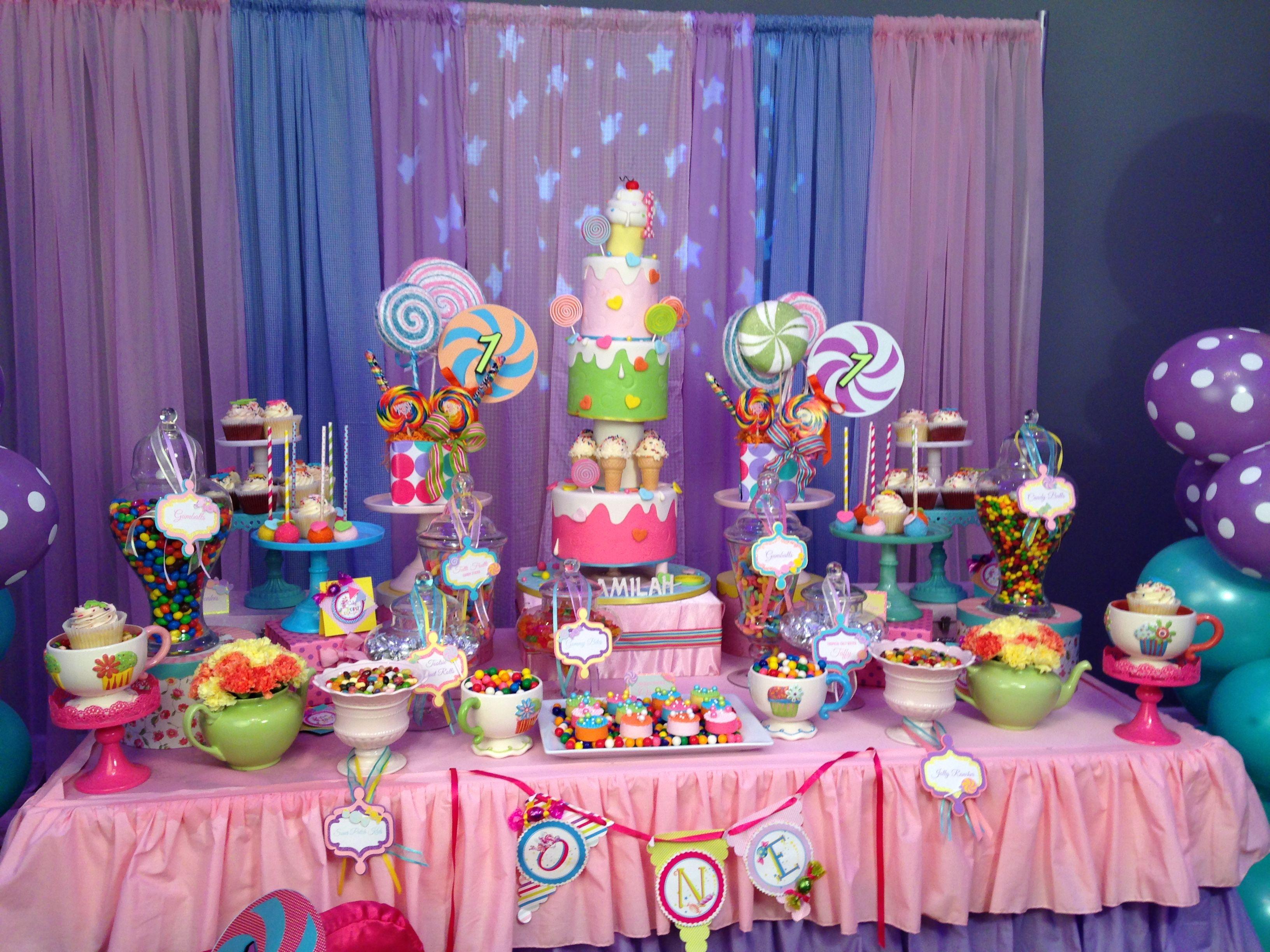 Pin de Mayeline Mena en Candy Land theme party For Amilah ...