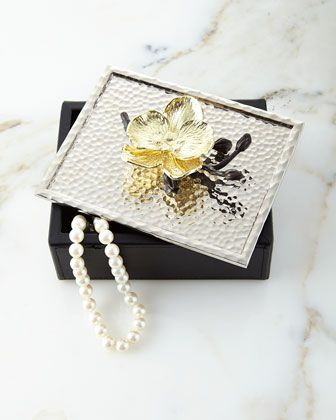 Michael Aram Gold Orchid Jewelry Box Orchid Jewelry Gold Orchid Mens Gold Jewelry
