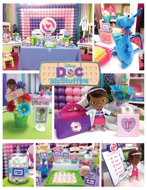 Doc McStuffins 1st Birthday Party Ideas By Dreammakersparty Jrstewart2012 Dammermann