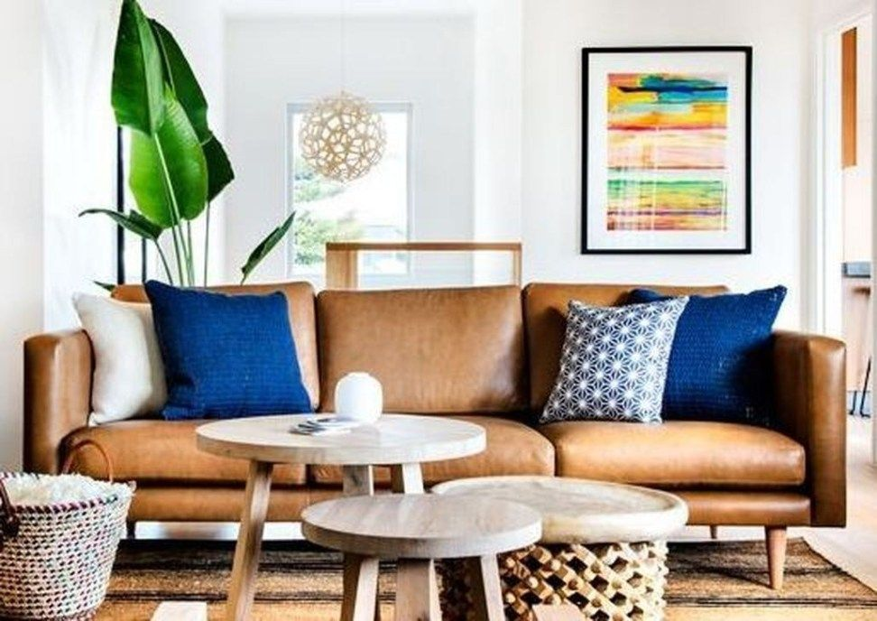 50 Cool Brown Sofa Ideas For Living Room Decor images