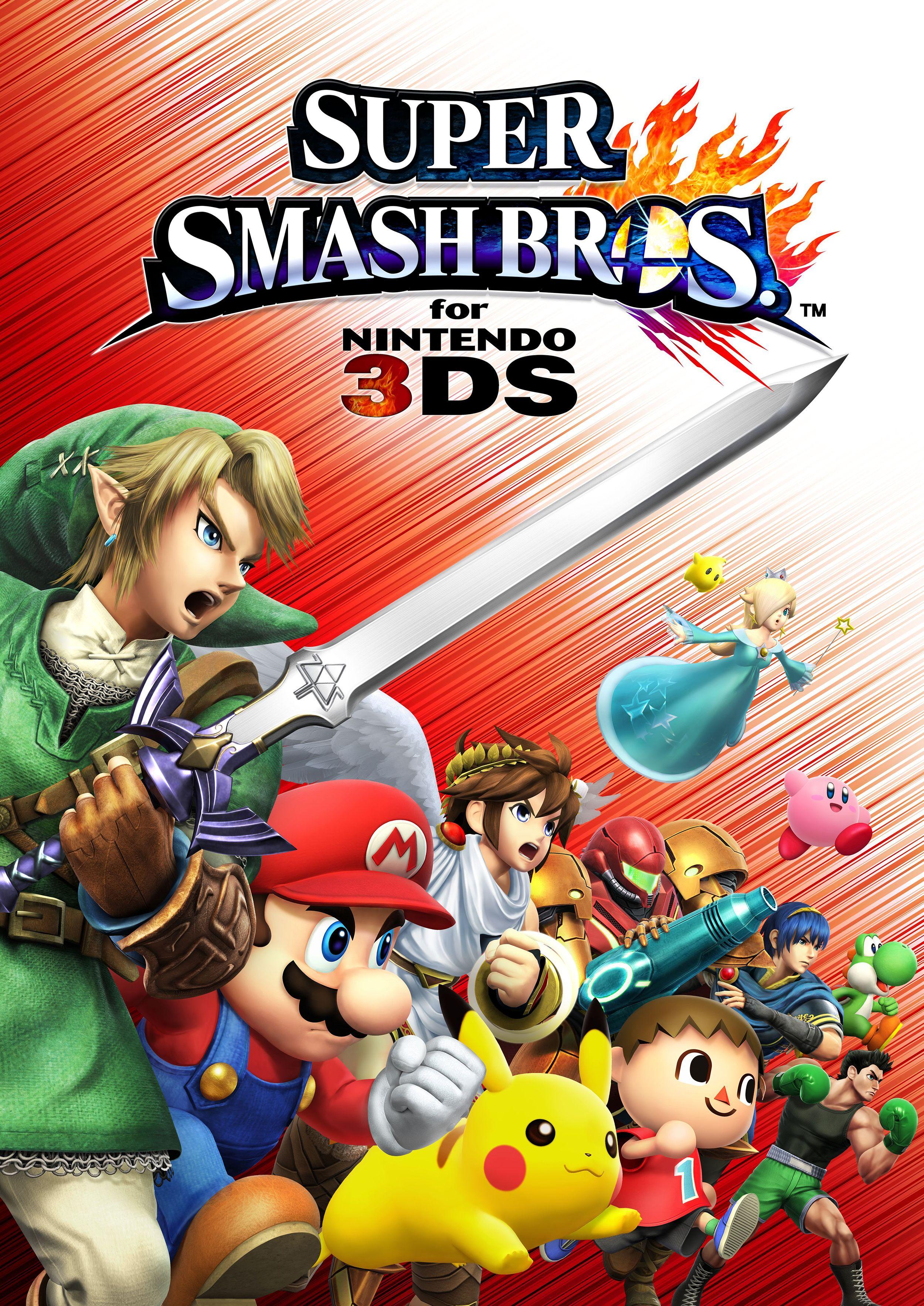 Official Illustration For Super Smash Bros On