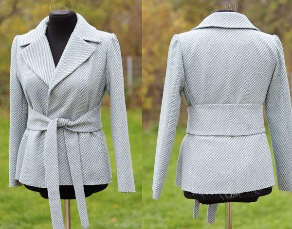 Patron couture veste tailleur femme gratuit