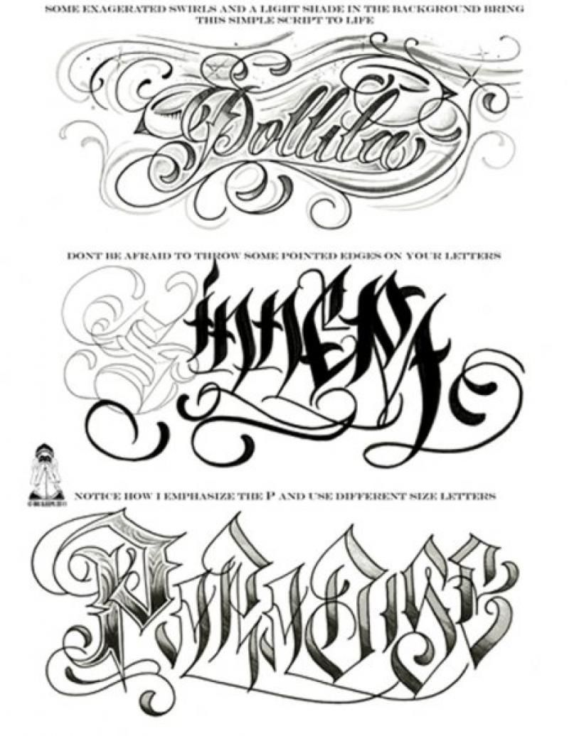 Big Meas Numbers 2 Go Numeric Guide Tattoo Fonts Alphabet