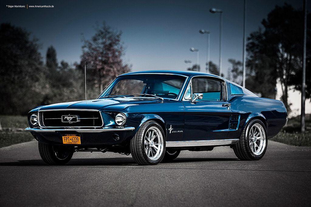 Blue 1967 Fastback