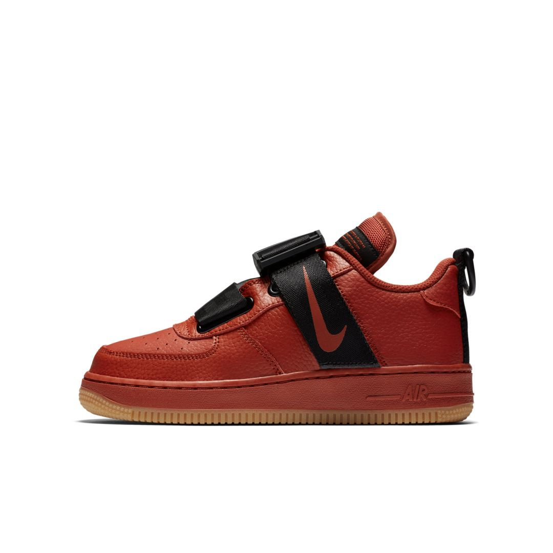 2307376d3bd03 Nike Air Force 1 Utility Big Kids  Shoe Size 6.5Y (Dune Red ...