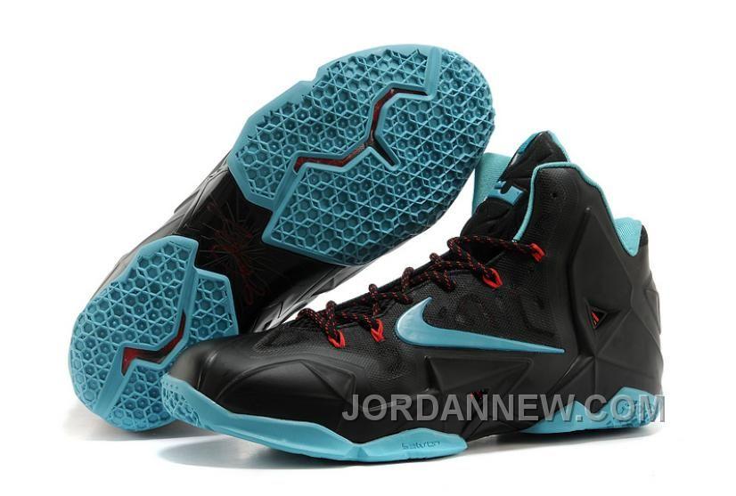 Nike LeBron 11 Diffused Jade Mens Basketball Shoes