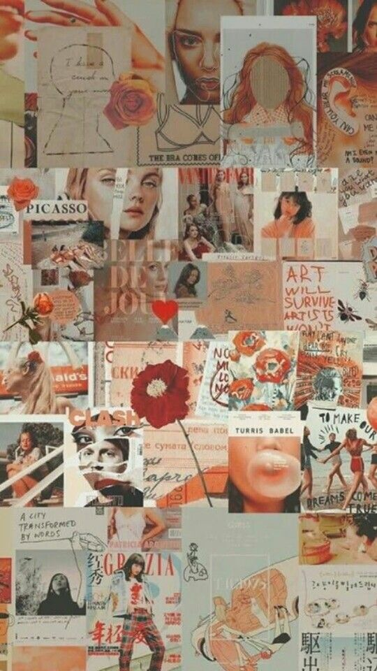 Pin By Sknrstt On Suki Collage Background Fashion Collage