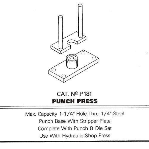 25-TON-SHOP-PRESS-PUNCH-BRAKE-PLANS | Metal fabricating