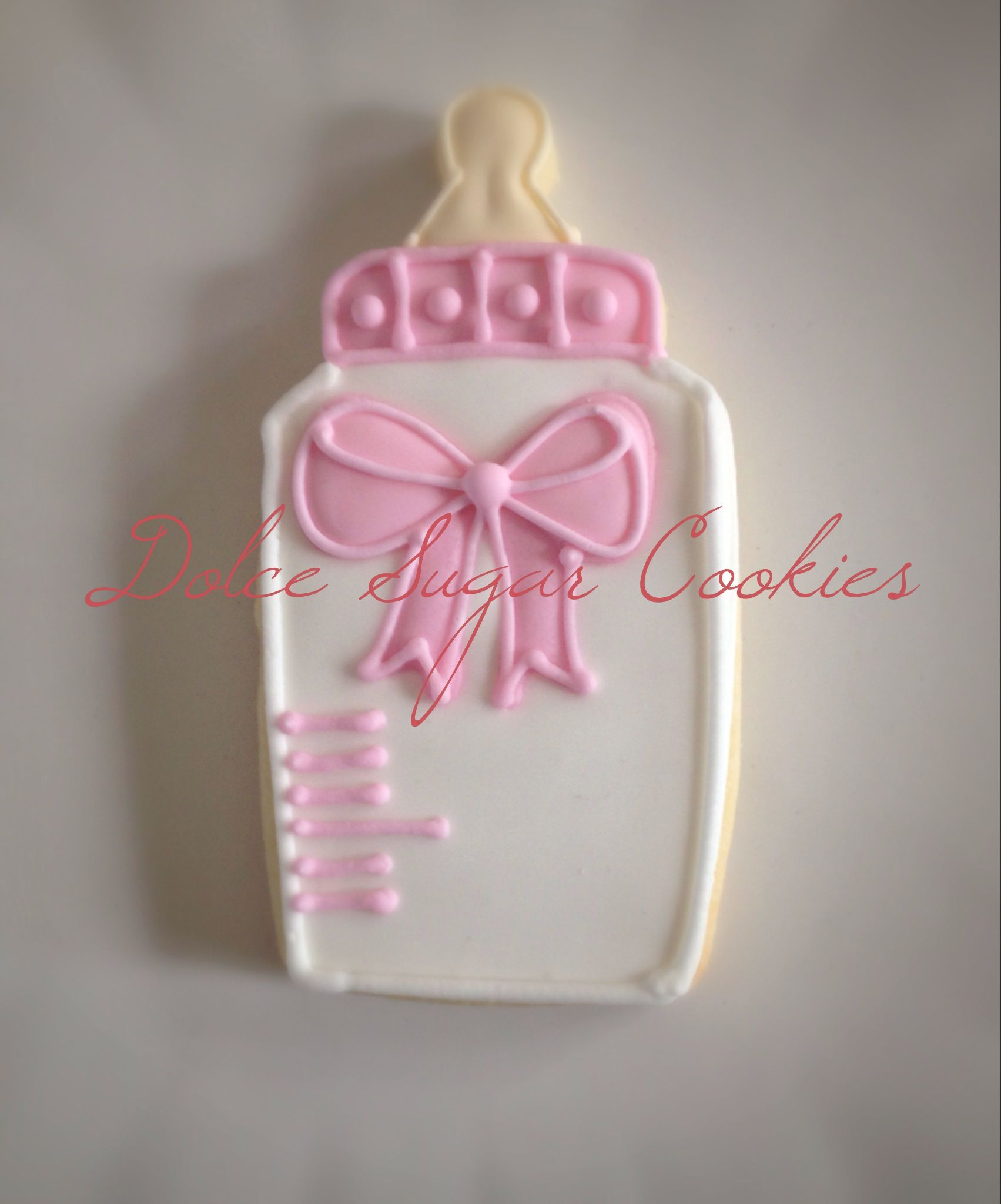 Baby Bottle | Dolce Sugar Cookies Collection | Pinterest | Bottle ...