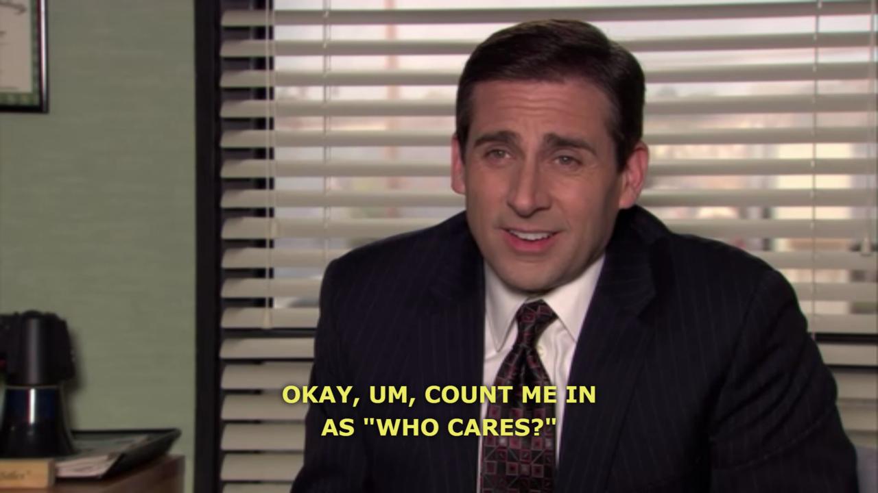 michael scott. | Amuse Me | Office memes, The Office ...
