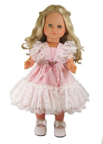 "Vee's Victorians Doll Clothes - 24"" Lacy Doll Jumper"