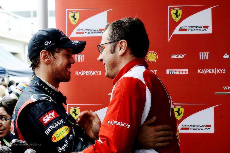 Vettel - Domenicali
