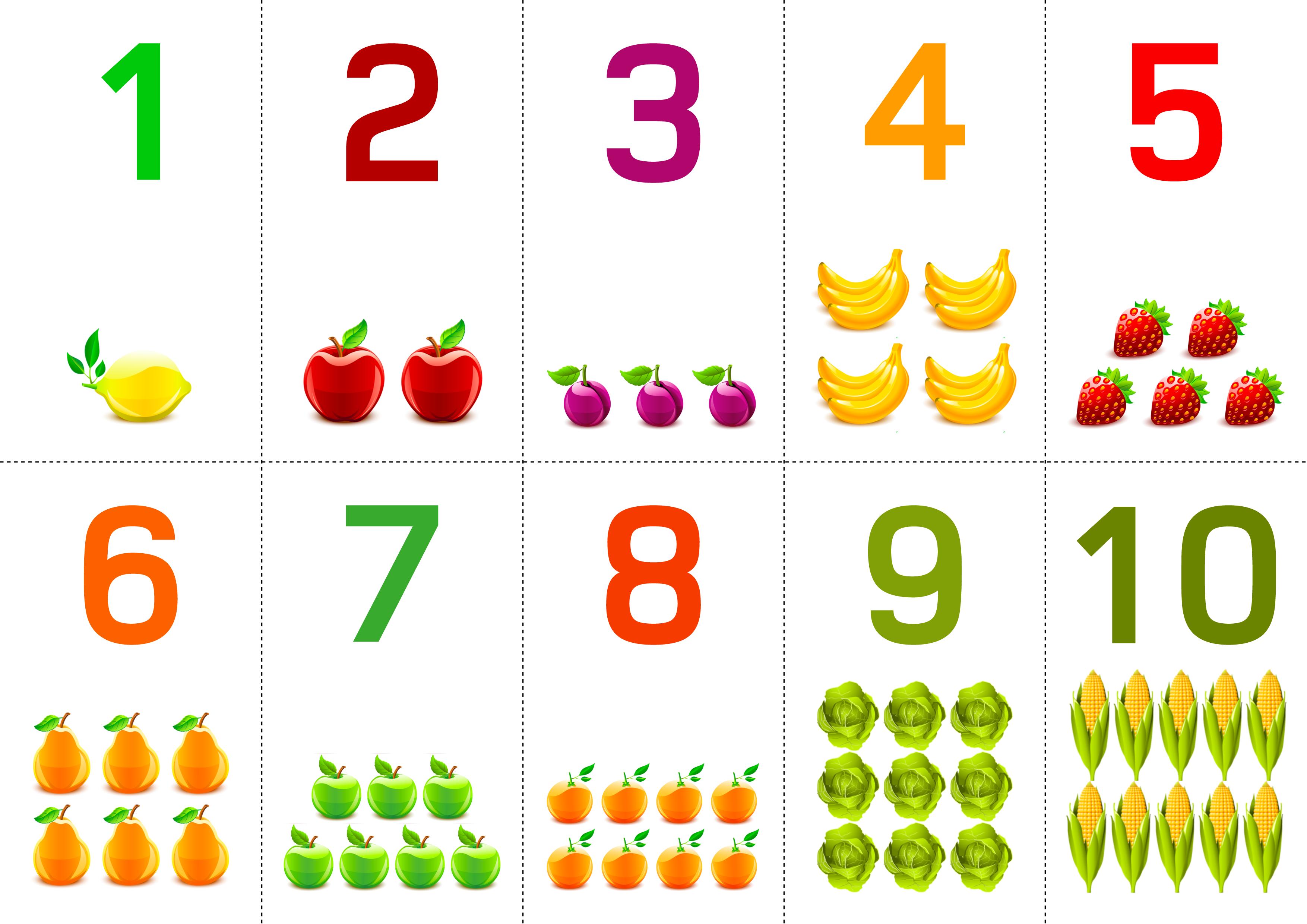 Картинки для 1 класса с цифрами от 1 до 10 (40 фото ...